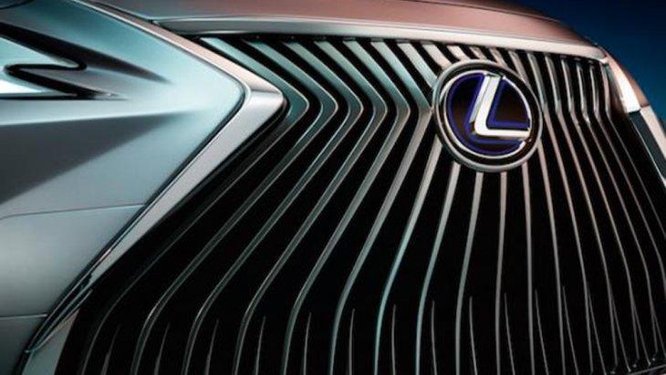 Lexus ES 2018 ให้ความโดดเด่นด้วยกระจังหน้าแบบ Spindle Grille