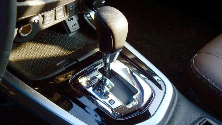 Nissan Terra ส่งกำลังผ่านระบบเกียร์อัตโนมัติ 7 สปีด พร้อม Manual Mode