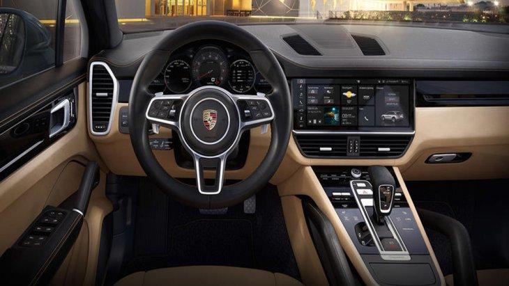 Porsche Cayenne E-Hybrid 2018 ทันสมัยด้วยการติดตั้งระบบถุงลมนิรภัยถึง 7 จุด เสริมความปลอดภัยให้กับผู้โดยสารในทุกที่นั่ง