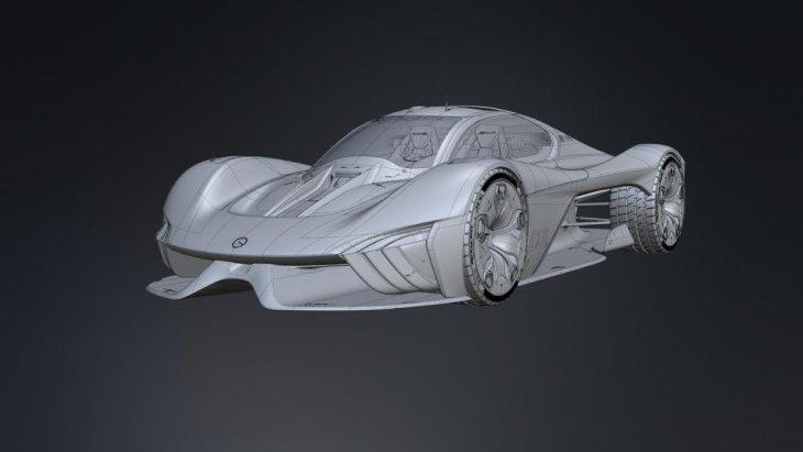 ความโดดเด่นของ Mercedes C01 จะอยู่ที่ขุมพลังในการใช้งานที่จะเน้นความเป็นรถยนต์ไฟฟ้าหรือ EV