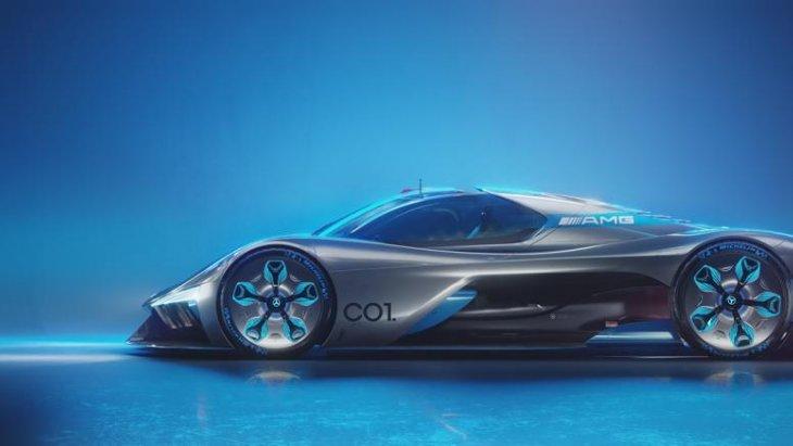 รถยนต์คอนเซปต์คาร์รุ่นใหม่มีการดีไซน์ออกแบบรูปลักษณ์ภายนอกที่สวยงาม