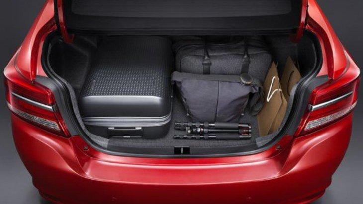 ห้องเก็บสัมภาระท้ายรถ ดีไซน์กว้างและลึกช่วยให้จัดเก็บสัมภาระได้อย่างจุใจ