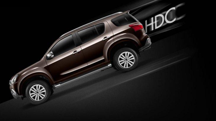 HDC (Hill Descent Control ช่วยควบคุมความเร็วของรถขณะลงทางลาดชัน