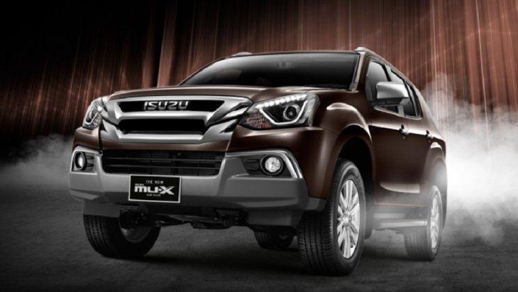 ราคา The New Isuzu MU-X    เริ่มต้นที่ 1,099,000 บาท