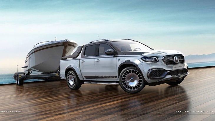 โดย Mercedes-Benz X-Class Yachting Edition จะมาพร้อมชุด Body Kit คาร์บอนไฟเบอร์ใหม่ บนพื้นฐานของ Mercedes-Benz X-Class Urban