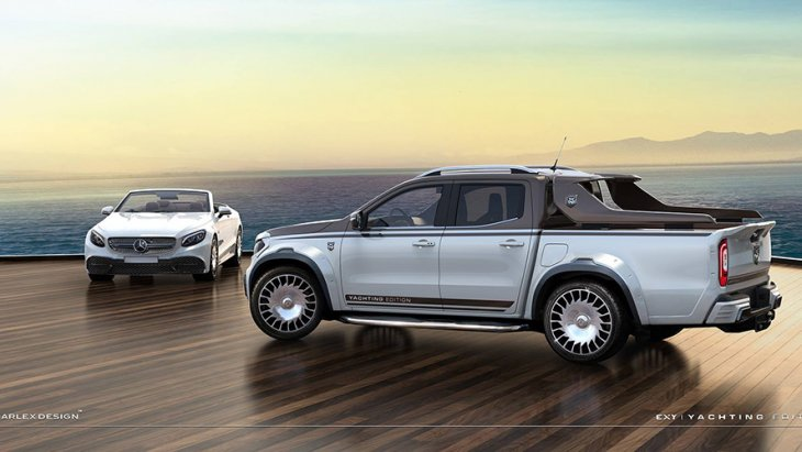 Mercedes-Benz X-Class Yachting Edition