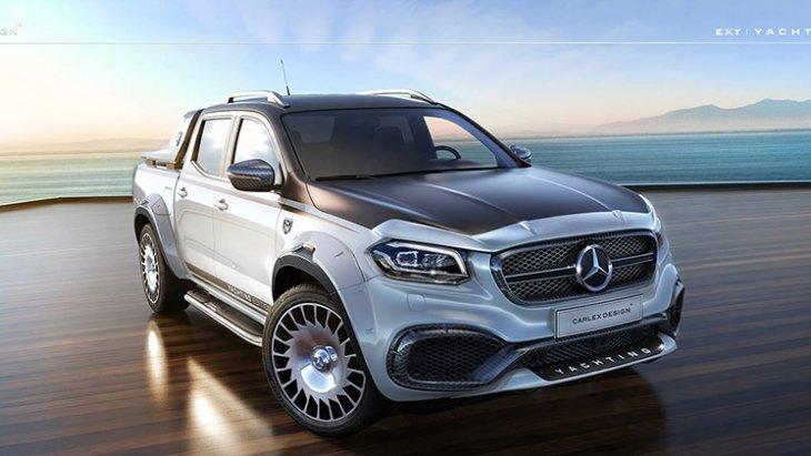 หรูซ้ำหรูซ้อนไปใหญ่โต จาก Nissan Navara ยังกลายเป็น Mercedes-Benz X-Class ได้ แล้วจะไปยากอะไรหาก Mercedes-Benz X-Class จะอยากเป็น Mercedes-Maybach