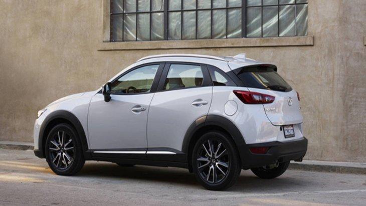Mazda CX-3 2018 ส่งกำลังผ่านระบบเกียร์ Skyactiv-Drive อัตโนมัติ 6 สปีด พร้อมแมนนวลโหมด Activematic