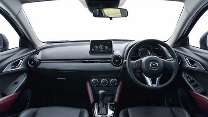 Mazda CX-3 2018 ติดตั้งระบบควบคุมการเปลี่ยนเกียร์ที่พวงมาลัยแบบ Sport Paddle Shift พร้อมฟังก์ชั่นอำนวยความสะดวกครบครัน