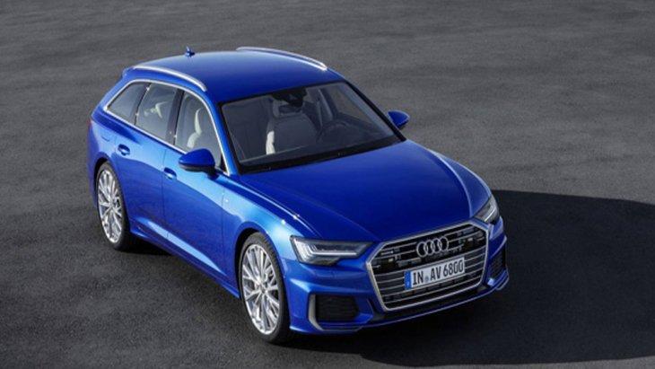 Audi A6 Avant 2018 ได้รับการติดตั้งกระจังหน้าแบบหกเหลี่ยมที่มีความคล้ายคลึงกับในรุ่นซีดานก่อนหน้านี้