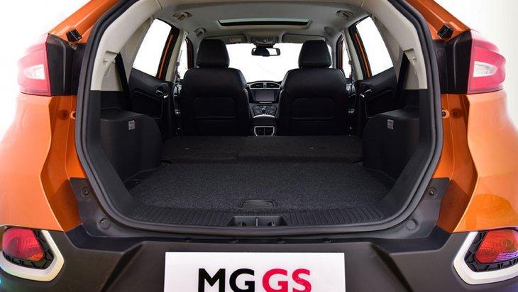 MG GS 2018 เพิ่มพื้นที่จัดเก็บสัมภาระด้านหลังมากยิ่งขึ้น