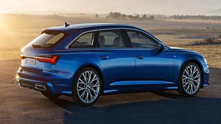 Audi A6 Avant 2018 ติดตั้งเสาอากาศแบบครีบฉลาม (Shark Fin)