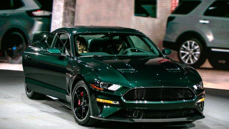 Ford Mustang Bullitt 2019 ใหม่ รุ่นพิเศษฉลอง 50 ปี