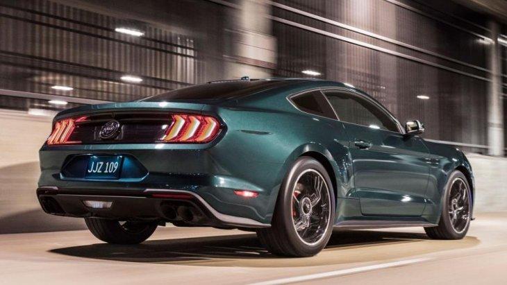 ดีไซน์ด้านหลังของ Ford Mustang Bullitt 2019