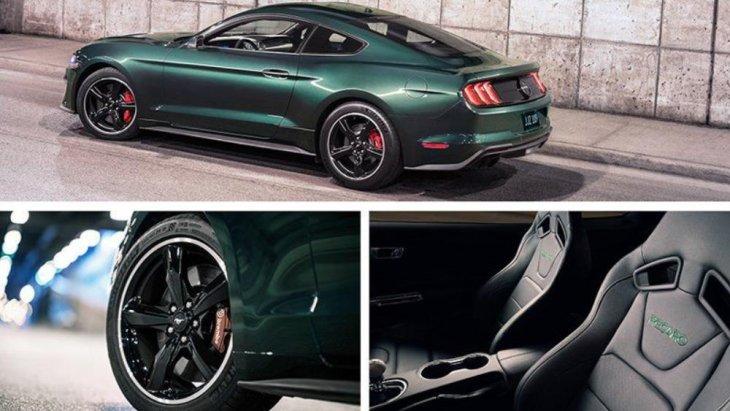 ดีไซน์โดยรวมของ Ford Mustang Bullitt 2019