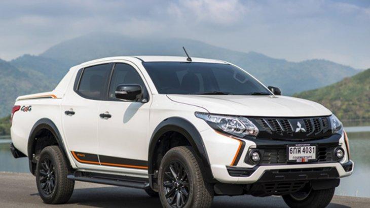 Mitsubishi Triton Athlete 2018  เพิ่มความสปอร์ตด้วยทางเลือกรุ่นย่อมที่มีผู้ให้ผู้ขับขี่ชื่นชมทั้งในแบบ Double Cab 4 ประตู ขับเคลื่อน 2 ล้อ ยกสูง (2WD) และ ขับเคลื่อน 4 ล้อ (4WD)
