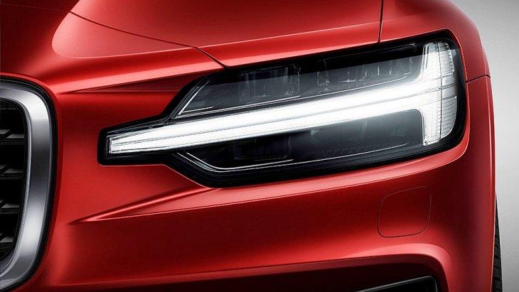 การออกแบบใหม่ของ Volvo เอกลักษณ์ใหม่ไฟหน้า T-Shaped