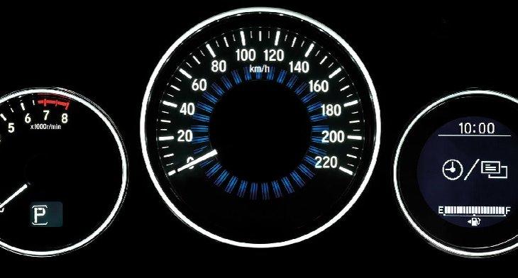 มาตรวัดเรืองแสงมาพร้อมกับหน้าจอแสดงข้อมูลการขับขี่