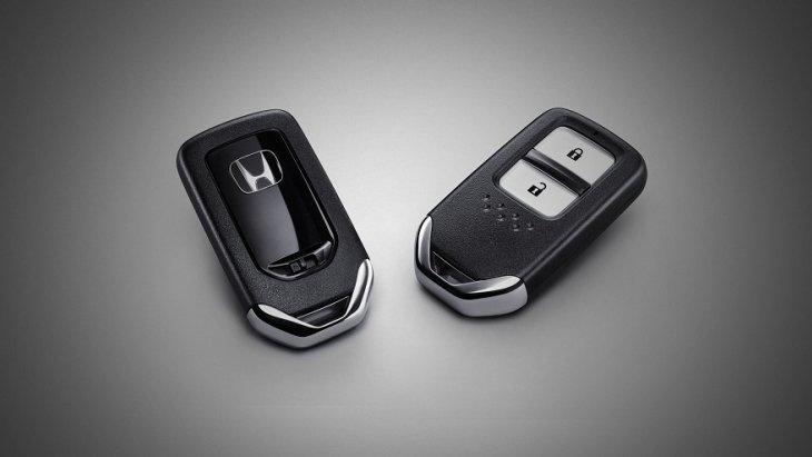 ระบบควบคุมประตูแบบอัจฉริยะ Honda Smart Key System