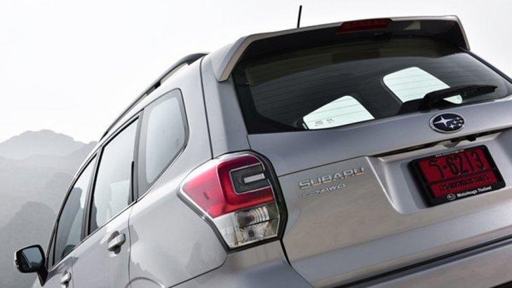 Subaru Forester เพิ่มความโฉบเฉี่ยวดึงดูดทุกสายตาผ่านสปอยเลอร์หลังทรงสปอร์ต