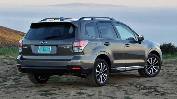 Subaru Forester ติดตั้งไฟท้ายแบบ LED พร้อมไฟเบรกดวงที่ 3 และ เสาอากาศแบบครีบฉลาม
