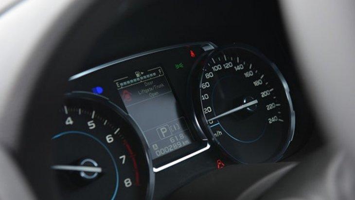Subaru Forester ติดตั้งหน้าจอแสดงผลข้อมูลการขับขี่แบบสี MID