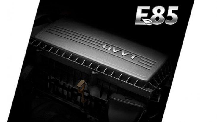 เครื่องยนต์เบนซิลขนาด 1.5 ลิตร 112 แรงม้า รองรับน้ำมันเชื้อเพลิง E85