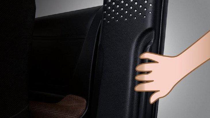 ปลอดภัยและสะดวกสบายในขณะขึ้น-ลงรถด้วยราวจับข้างประตูสไลด์
