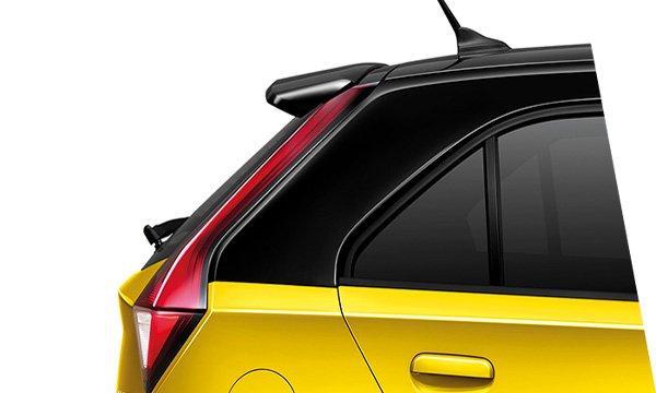 MG 3 2018 เพิ่มความสะดุดตาด้วยสปอยเลอร์หลังทรงสปอร์ต และ สเกิร์ตด้านข้างสีทูโทน