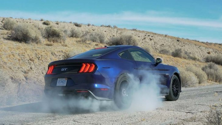 Ford Mustang 2018 มาพร้อมกับเทคโนโลยีระบบแจ้งเตือนเมื่อผู้ขับขี่ออกนอกช่องจราจรแบบ LDW รวมถึงระบบป้องกันการชนและตรวจจับคนเดินแบบ Pre-Collision Assist with pedestrian detection