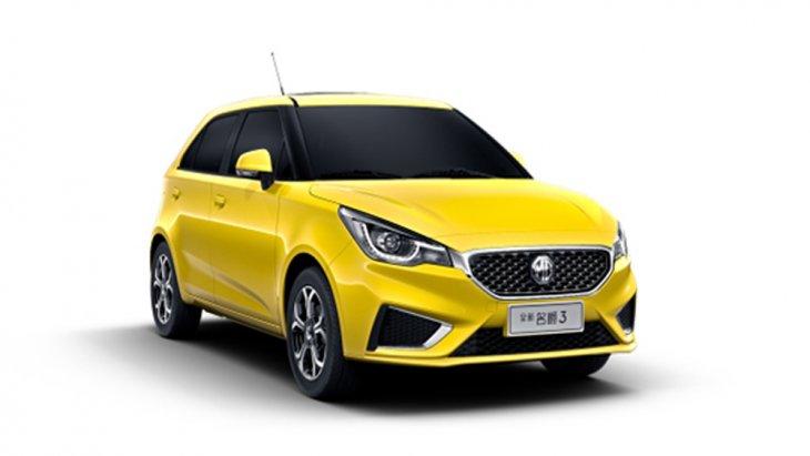 MG3 2018 ยอดรถยนต์อเนกประสงค์ SUV ที่ได้รับการตกแต่งอย่างดีเยี่ยมผ่านไฟหน้าแบบ LED ไฟส่องสว่างสำหรับการขับขี่กลางวันแบบ Daytime Running Lights พร้อมระบบควบคุมการเปิด-ปิดแบบอัตโนมัติ