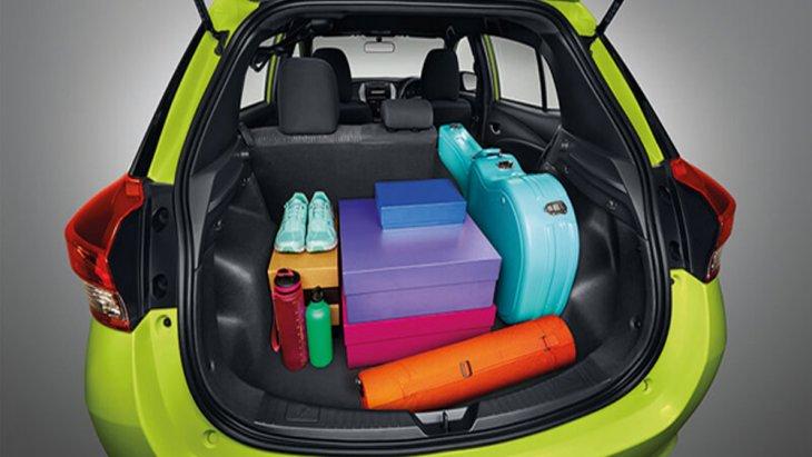 Toyota Yaris 2018 เพิ่มพื้นที่เก็บสัมภาระด้านหลังมากยิ่งขึ้น