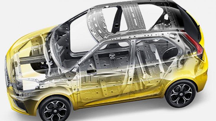 โครงสร้างตัวถังนิรภัยแบบ USD (Ultimate Stiffness Design) และ ช่วงล่างแบบ European Tuning Suspension ช่วยให้ผู้ขับขี่สามารถควบคุมรถได้ดียิ่งขึ้นในทุกการเข้าโค้ง