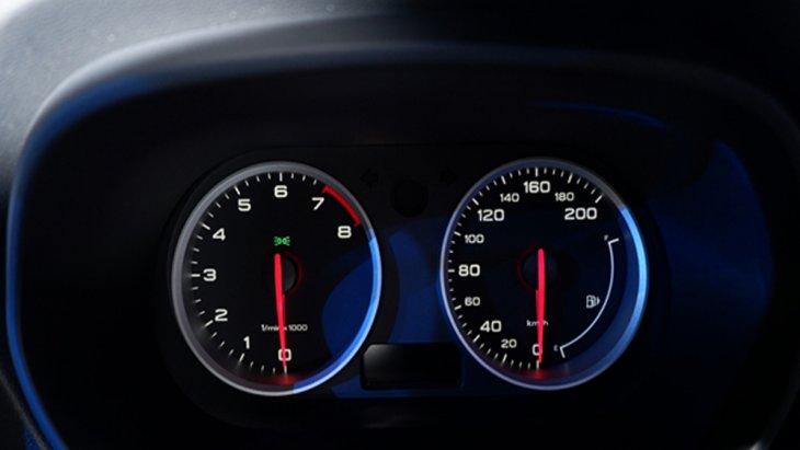 หน้าจอแสดงผลข้อมูลการขับขี่อัจฉริยะแบบสี MID