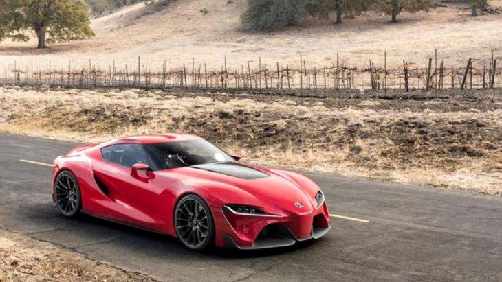 การทดสอบรถตัวต้นแบบของ Toyota Supra ที่มีการเผยภาพ spy shot ออกมาให้ได้เห็นถึงดีไซน์โดยรวมของ Toyota Supra 2019