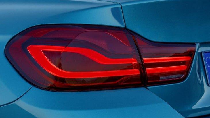 ไฟท้ายแบบ LED ของ BMW 4 Series Coupe 2018  ที่มีการปรับและพัฒนามาจากรุ่นที่แล้ว