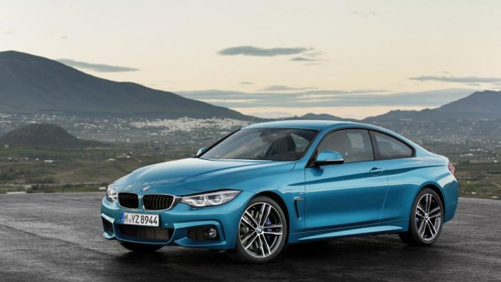 BMW 4 Series Coupe 2018 หนึ่งในโมเดลของ BMW 4 Series