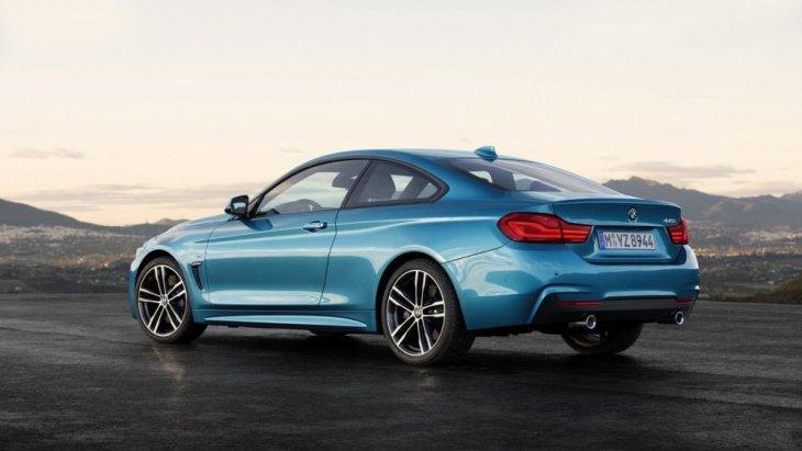 เส้นสายการออกแบบ แสดงให้เห็นถึงความหรูหราและความสปอร์ตของ BMW 4 Series Coupe 2018