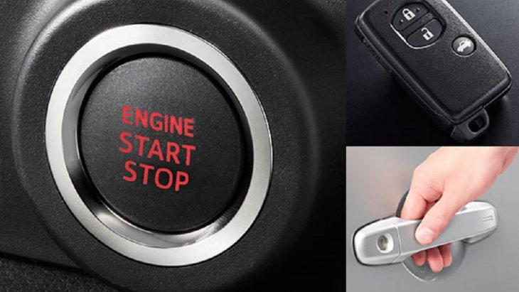 SUBARU BRZ 2018 สามารถเปิดประตูและสตาร์ทเครื่องยนต์โดยไม่ต้องหยิบกุญแจออกจากกระเป๋า