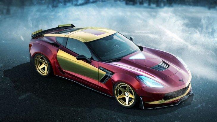 ทั้งเท่ และซ่า กับ Chevrolet Corvette Z06 ที่เหมาะกับ Ironman แบบไม่ต้องสืบ!!!