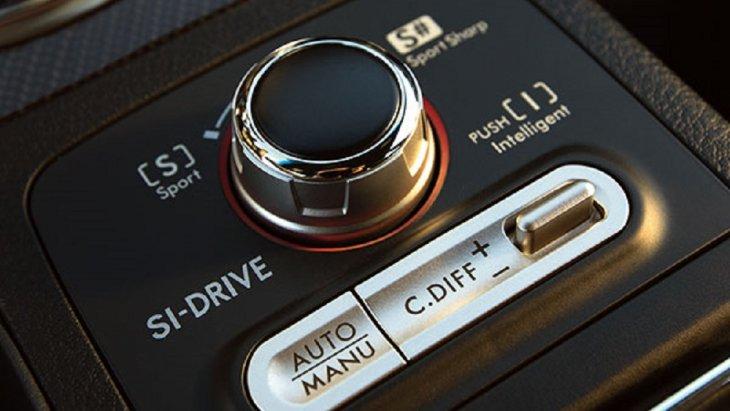 SUBARU WRX STI  มาพร้อมกับระบบ SI-DRIVE (SUBARU Intelligent Drive) เครื่องยนต์ 3 แบบในขุมพลังเพียงหนึ่งเดียว ทั้งโหมด Intelligent, Sport และ Sport Sharp