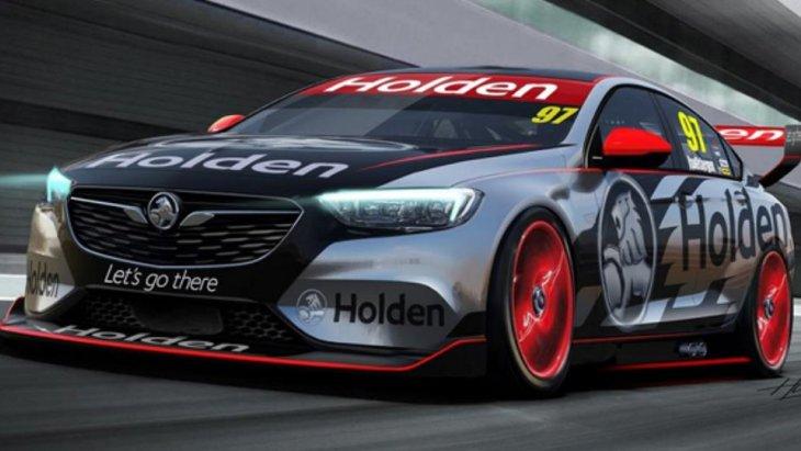 """Commodore Supercar concept"" เตรียมพร้อมการเข้าแข่งขัน Virgin Australia Supercars Championship ภายในปี 2018 อย่างเป็นทางการ"