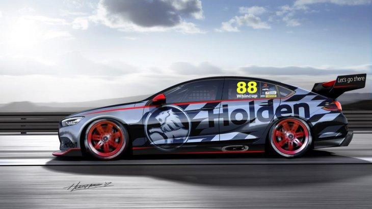 การออกแบบดีไซน์ใหม่นี้ทางทีมงานของ Holden จะออกแบบโดยทางทีมงานของ Triple Eight Race Engineering