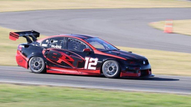 """รถแข่ง """"Commodore Supercar concept"""" ตัวใหม่ล่าสุดของ Holden"""