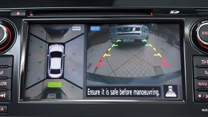 กล้องมองรอบทิศทางแบบ 360 องศา โดยมีกล้อง 4 จุดรอบคันรถ