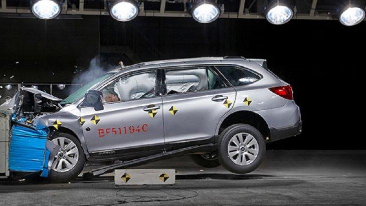 SUBARU OUTBACK 2018  ใหม่ผ่านการทดสอบมาตรฐานความปลอดภัยรอบสุดท้ายของ Euro NCAP (European New Car Assessment Program) ด้วยระดับคะแนนสูงสุด 5 ดาว