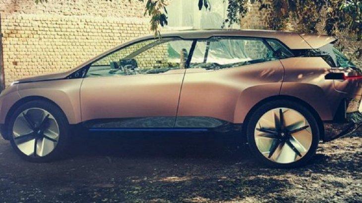 BMW เผยภาพอย่างเป็นทางการครั้งแรกของรถยนต์ครอสโอเวอร์ไฟฟ้า iNEXT