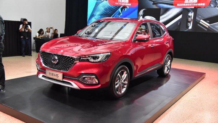 MG HS 2018 รถอเนกประสงค์ 5 ที่นั่ง รุ่นใหม่ที่ทาง MG  ส่งออกมาเผยโฉมเปิดตัวอย่างเป็นทางการ ณ ประเทศจีน