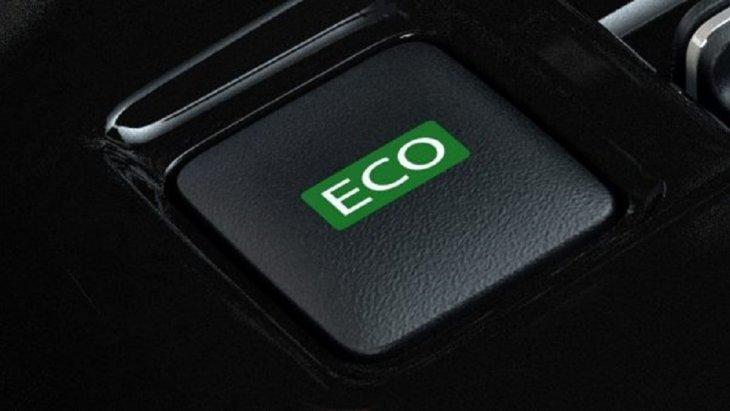 โหมด ECO เพื่อเป็นการจำกัดกำลังมอเตอร์ช่วยประหยัดพลังงาน นอกจากนี้ยังช่วยเพิ่มการเบรกได้ดีมากยิ่งขึ้น