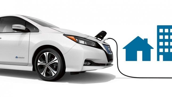 การชาร์ตแบตเตอรี่ของ Nissan LEAF  1 ชั่วโมง ขับขี่ได้ 22 ไมล์ และแบตเตอรี่จะชาร์ตเต็มภายใน 7.5 ชั่วโมง
